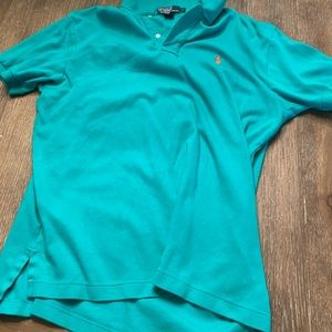Turquoise xl Ralph Lauren polo